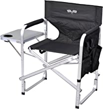 Stylish Camping Full Back Folding Director's Chair