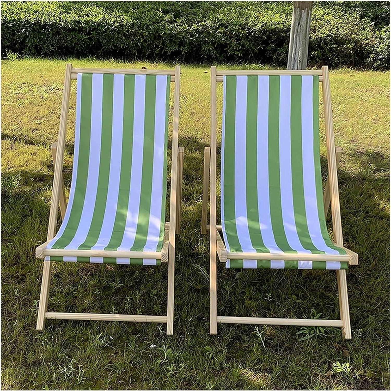 Deck Chair Set Brand Cheap Sale Venue of 2 Manufacturer OFFicial shop Bamboo Beach Lounger Folding Sling