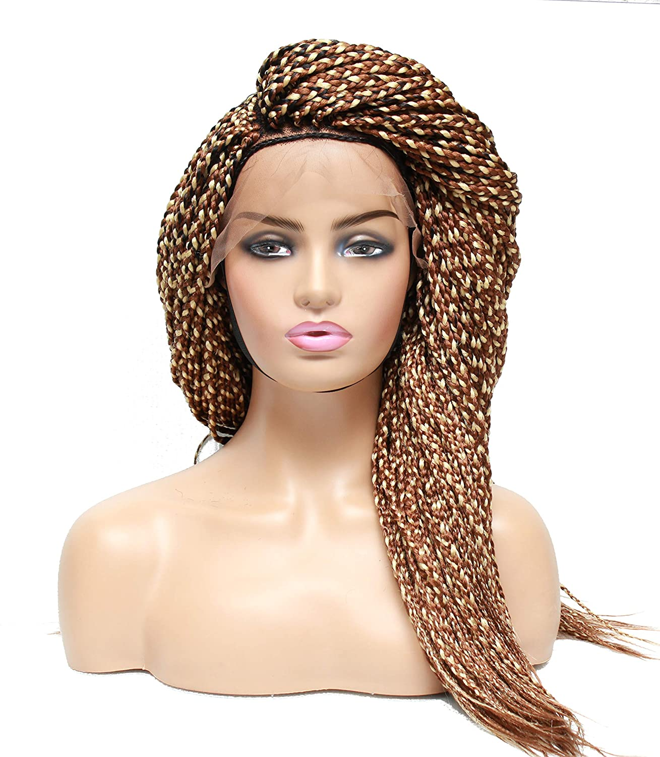 Blonde wigs- Braided braids- braided La Ombre Super popular 5% OFF specialty store