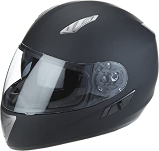 Preisvergleich für Protectwear H520-ES-M Motorradhelm,Integralhelm mit Integrierter Sonnenblende, Größe M, Schwarz-Matt preisvergleich