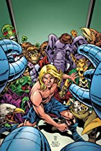 Kamandi Challenge (Issue #9 -Variant Cover by Kevin Eastman)