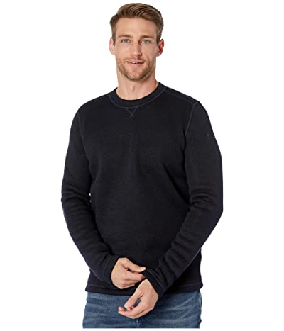 Smartwool Hudson Trail Fleece Crew Sweater (Navy) Men