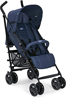 Chicco London Up Stroller With Bumper Bar - Blue Passion