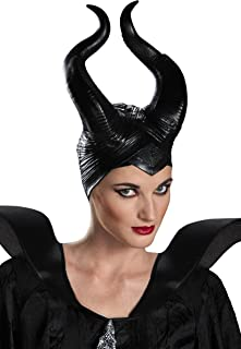 Disguise Deluxe Maleficent Horns Adult Costume