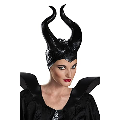 BullStar Halloween Costumes Halloween Horns Hat Deluxe Headpiece for Adults Women Girls