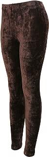 Women's Velvet Leggings - Ultra Soft Pants - Elastic Waist Band - Skinny Pants
