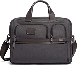 Alpha 3 Expandable Organizer Laptop Briefcase – 15 Inch Computer Bag for Men and..