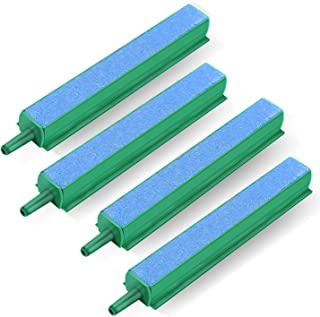 VIVOSUN 4 Inch Air Stone Bar Mineral Bubble Diffuser for Aquarium Fish Tank and Hydroponic System Pack of 4