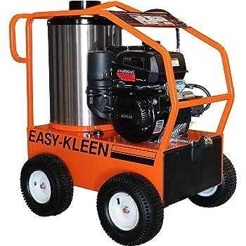 Easy-Kleen Professional 4000 PSI (Gas - Hot Water) Pressure Washer w/Kohler Engine & Electric Start (12V Burner)