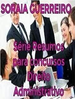 Serie Resumos para Concursos: Direito Administrativo (Série Resumos para Concursos Livro 1) (Portuguese Edition)