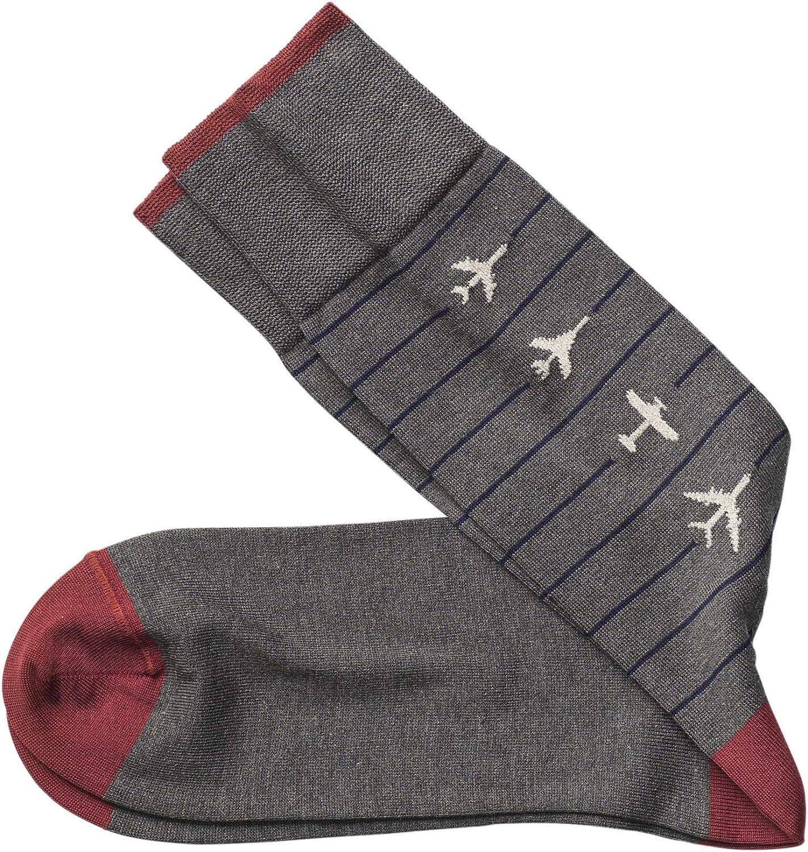 Johnston & Murphy Men's Airplane Socks