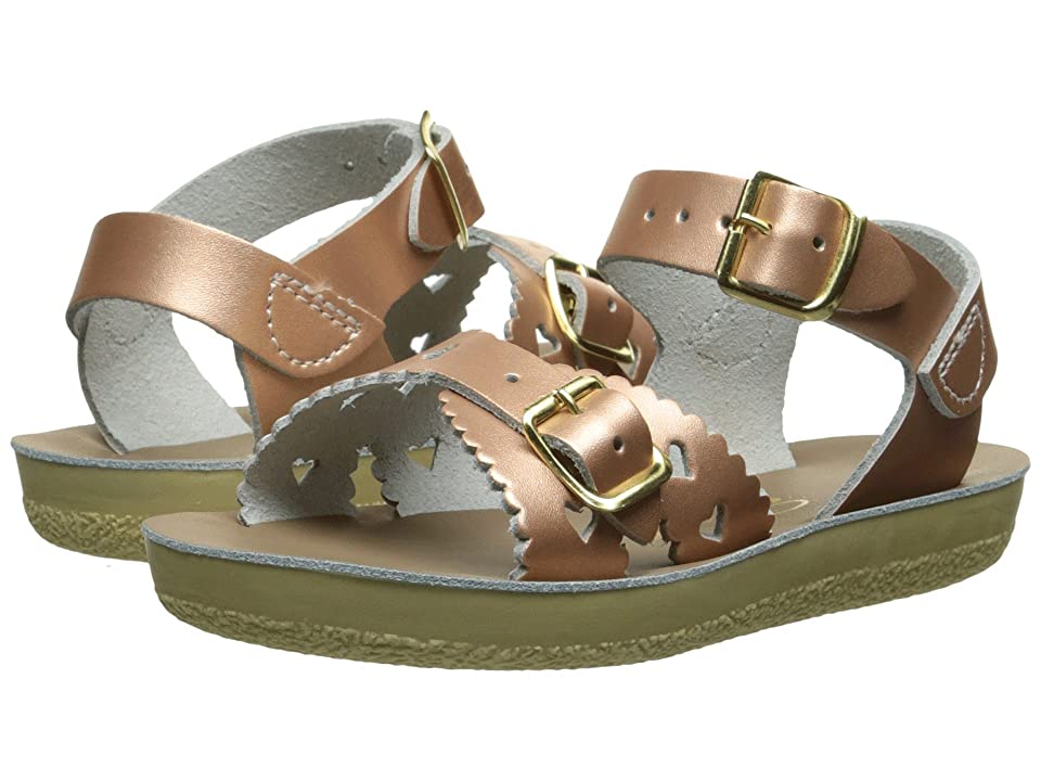 Salt Water Sandal by Hoy Shoes Sun-San Sweetheart (Toddler/Little Kid) (Rose Gold) Girls Shoes