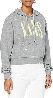 Vans Women's Kaye Crop Hoodie Hooded Sweatshirt