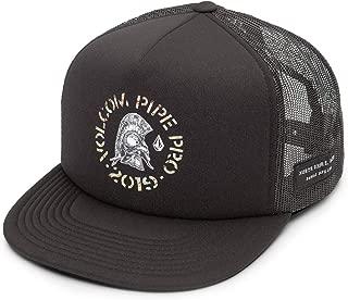 Men's Pipe Pro Helmet 5 Panel Snap Back Cheese Hat