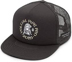 Volcom Men's Pipe Pro Helmet 5 Panel Snap Back Cheese Hat