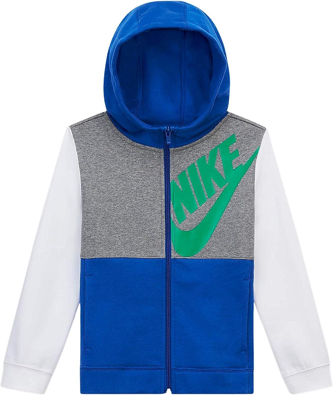 Nike Big Kids youth Boys Full-Zip Hoodie