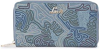 Lavie Halley Passport Holder Zip Around Women's Wallet(P Blue)