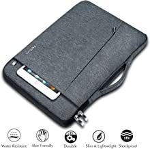 Ferkurn 14 15 15.6 inch Laptop Sleeve Case with Handle Compatible MacBook 15, Surface, Acer Aspire, Thinkpad, HP Chromebook Probook Pavilion, Inspiron, Asus Chromebook, Waterproof Computer Case Grey