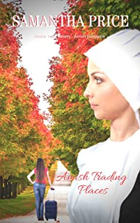 Amish Trading Places: Amish Romance (Amish Twin Hearts Book 1)