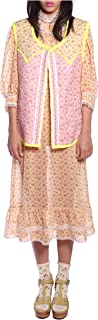 Anna Sui Women'S Buttercup Butterfly Quilted Rosebuds Vest