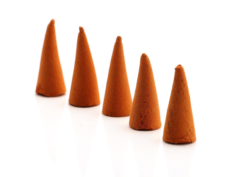 キャンセルバウンス肥満creationtop 40個Incense Conesサンダルウッド ベージュ