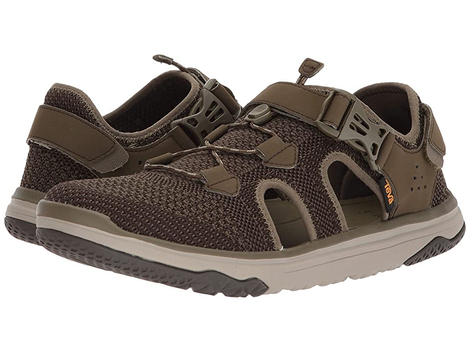 Teva Terra-Float Travel Knit (Dark Olive) Men's Shoes