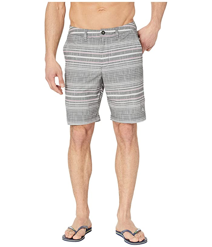 Tommy Bahama Cayman Sarzana Stripe Swim Trunk (Black) Men