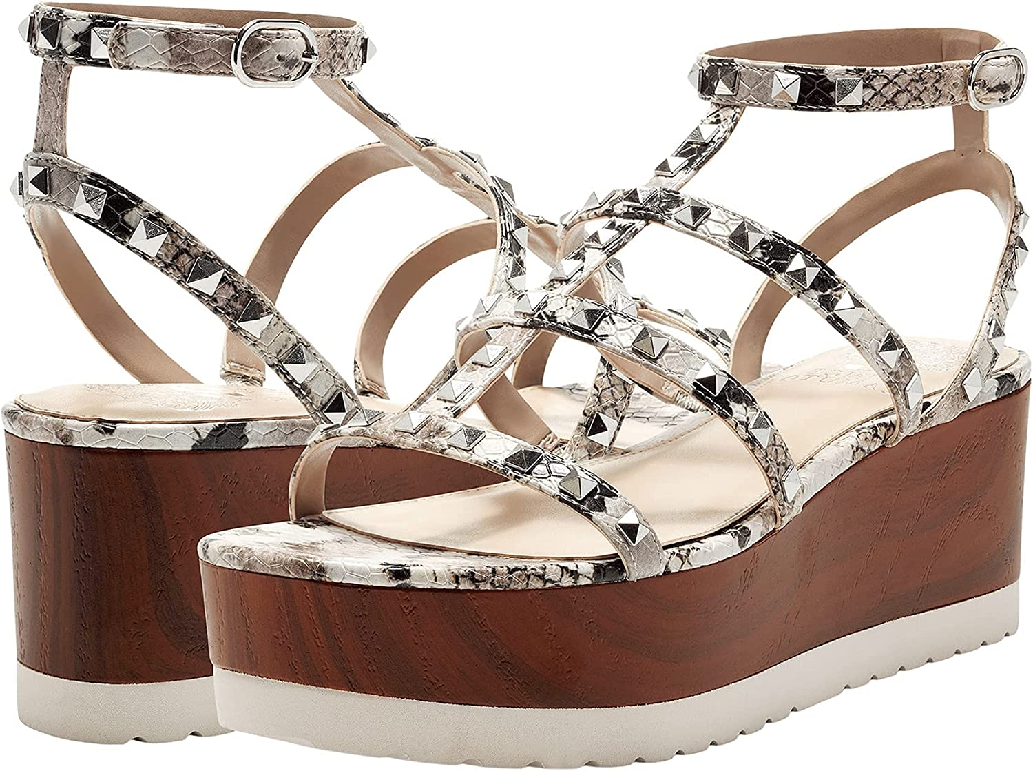 Vince Camuto Women's Lowest price challenge Pemolie Rapid rise Wedge Sandal Gladiator