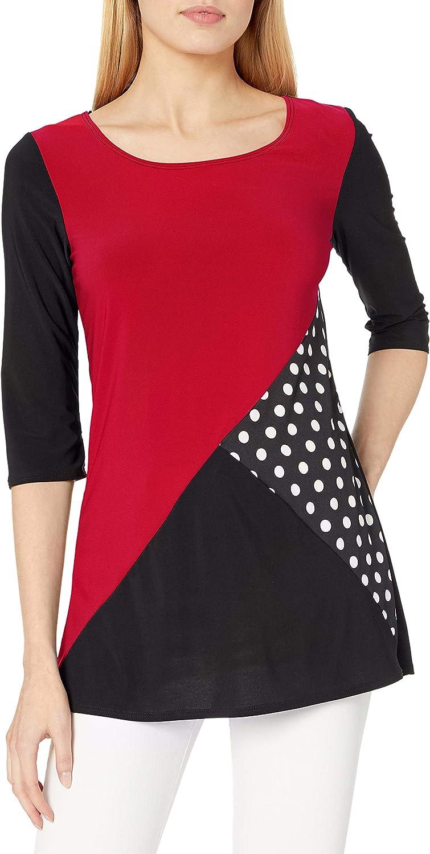 Star Vixen store Women's Top 5% OFF Colorblock Tunic