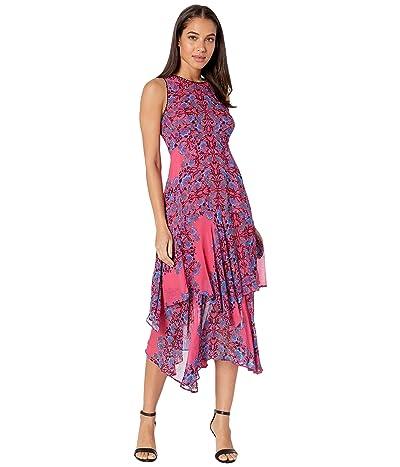 Nanette Lepore Magic Garden Dress (Coral Multi) Women