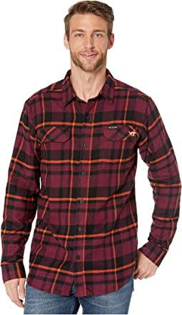 Deep Maroon Plaid