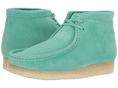 Clarks Wallabee Boot (Spearmint Suede) Men