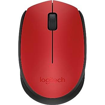 Logitech - M170 - Mouse Inalámbrico - Rojo