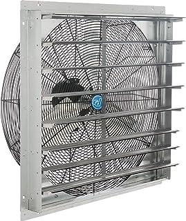 """30"""" Exhaust Ventilation Fan With Shutter, Single Speed"""