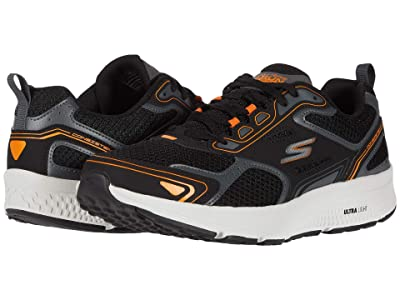 SKECHERS Go Run Consistent (Black/Orange) Men