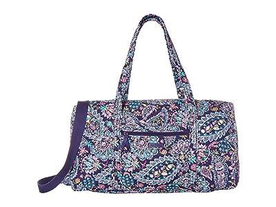 Vera Bradley Lay Flat Travel Duffel (French Paisley) Bags