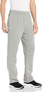 Starter mens Men's Open-hem Fleece Sweatpants