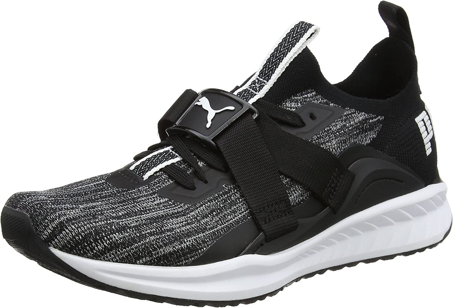 PUMA Men's Ignite Evoknit Lo 2, Black White