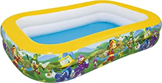 Bestway 91008 - Piscina Hinchable Infantil Mickey and the Roadster Racers Family 262x175x51 cm