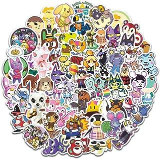 60Pcs Animal Crossing New Horizons Stickers Waterproof Vinyl Stickers for Skateboard Pad MacBook Laptop Luggage Bike Phone