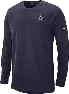 Dallas Cowboys NFL Mens Nike Modern Crew Neck Fleece