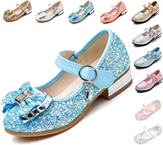 76252e04a Kikiz Little Girl's Adorable Sparkle Mary Jane Princess Party Dress Shoes