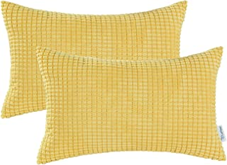 Best yellow bolster pillow Reviews
