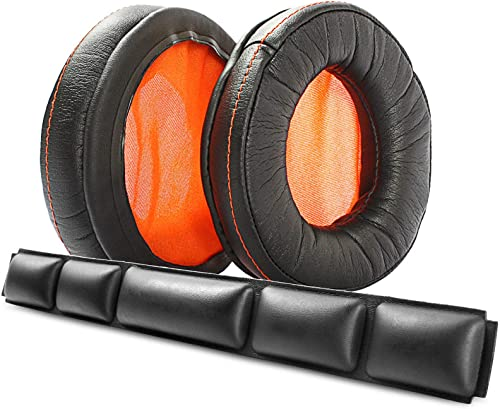 popular Ear outlet sale Pads Headband Replacement Foam Ear Cushions Covers Compatible new arrival with SteelSeries Siberia 840 800 Wireless Headset Dolby 7.1 Headphones Headset outlet online sale