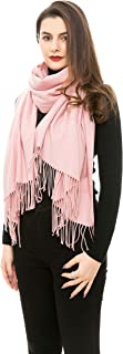 REEMONDE Large Super Soft Cashmere Blend Women Pashmina Shawl Wrap Stole Scarf