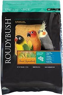 RoudyBush Daily Maintenance Bird Food, Mini, 25-Pound (225MIDM)