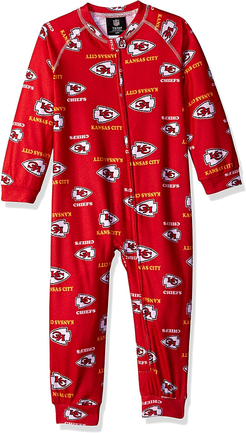 Outerstuff NFL Toddler Raglan Zip Up Coverall