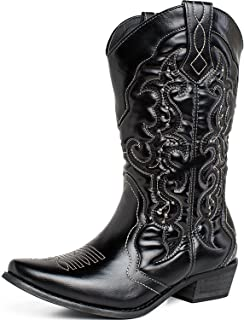 Womens Winter Western Cowgirl Cowboy Boots