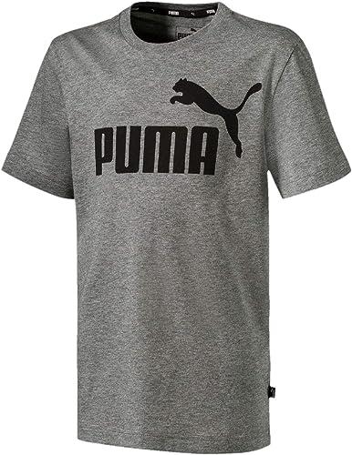 PUMA Ess Logo Tee B T-Shirt Garçon