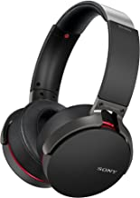 Sony XB950B1 Extra Bass, Auriculares Inalámbricos con Bluetooth, Alámbrico/Inalámbrico, Talla Única, Negro